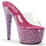 Scarpe Pleaser - Bejeweled-701MS/C/HPRS